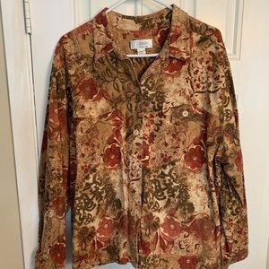 CJ Banks Shirt Jacket 2X